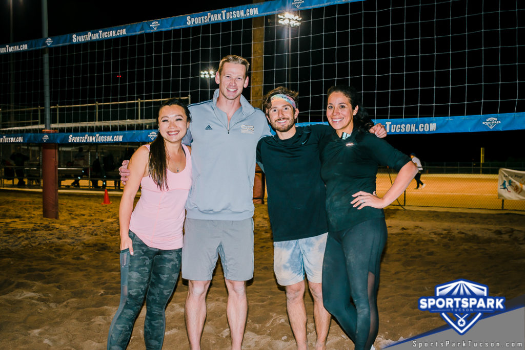 Volleyball Sun Co-ed Doubles - A/B Champions
