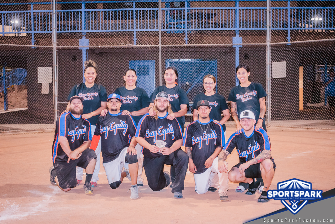 June 13th Softball Tournament Co-ed Lite 10v10 - Lower Champions