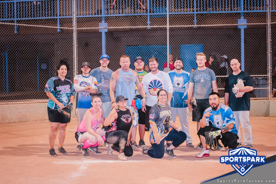 June 13th Softball Tournament Co-ed Lite 10v10 - Lower 2 Champions