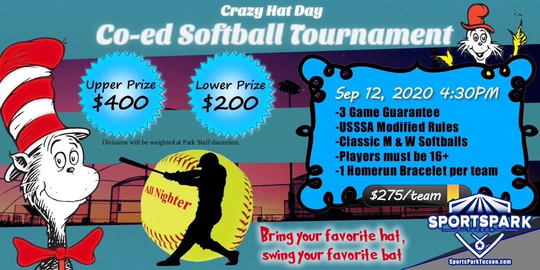 Sep 12th Softball Tournament Co-ed 10v10