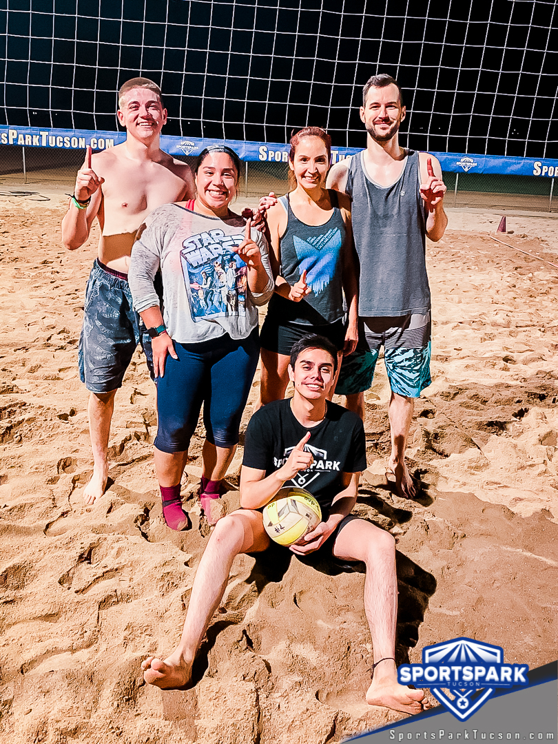 Volleyball Wed Co-ed 4v4 - A/B Champions