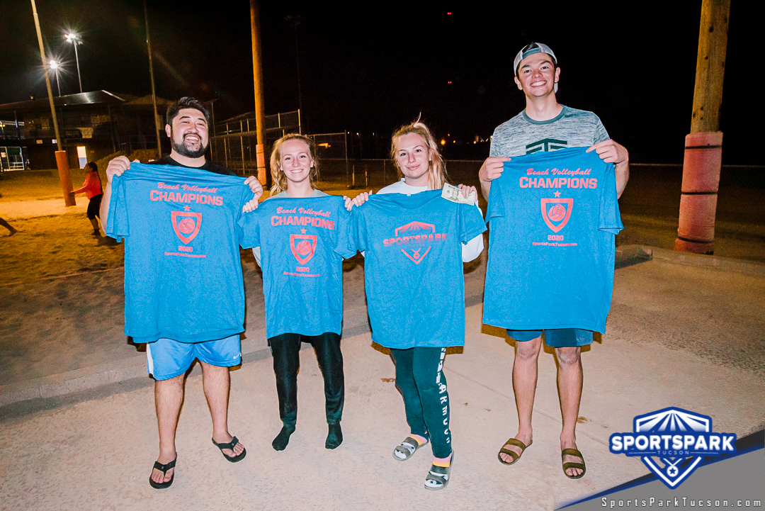 Sep 12th Sand Volleyball Tournament Co-ed 4v4 - Wave 2 Champions