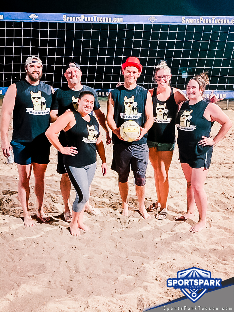 Volleyball Wed Co-ed 4v4 - C, Team: The Volley Llamas