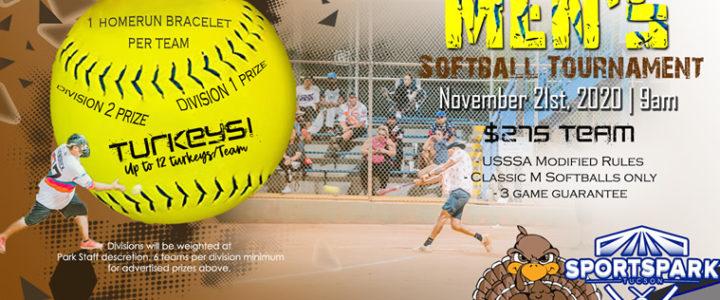 Nov 21st Softball Tournament Men's 10v10