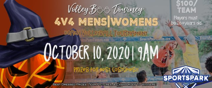 October 10th Beach Volleyball Tournament Men's 4v4