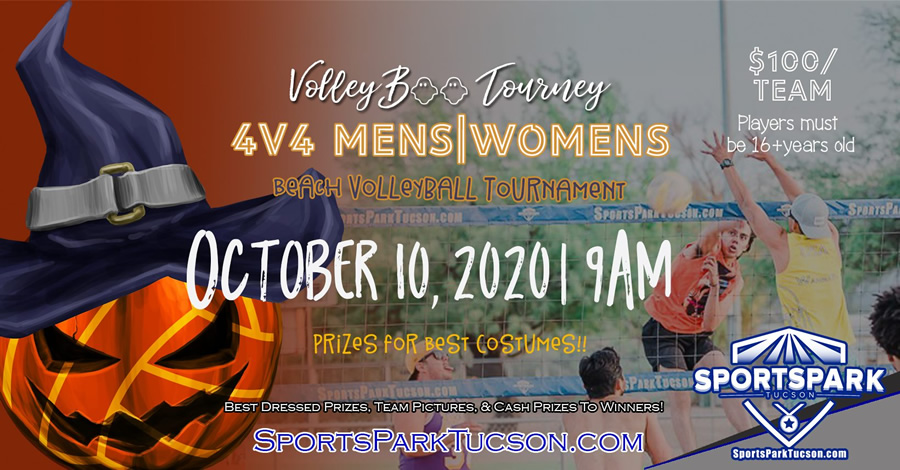 October 10th Beach Volleyball Tournament Men's 4v4 - A/B