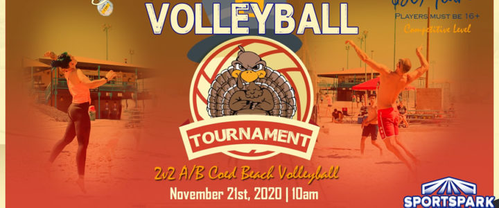 Nov 21st Doubles Sand Volleyball Tournament Co-ed 2v2
