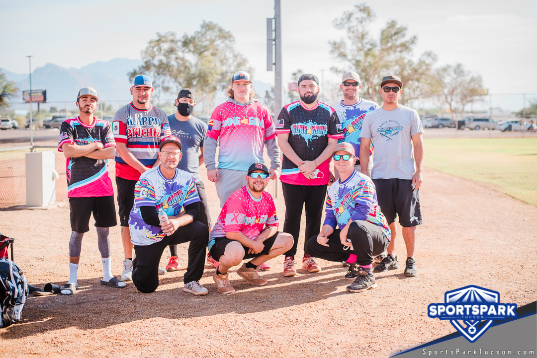 Nov 21st Softball Tournament Men's 10v10 - Lower, Team: Gang-Gang