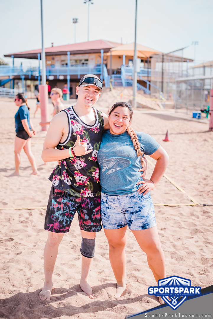 Nov 21st Doubles Sand Volleyball Tournament Co-ed 2v2, Team: Lady and the Tramp