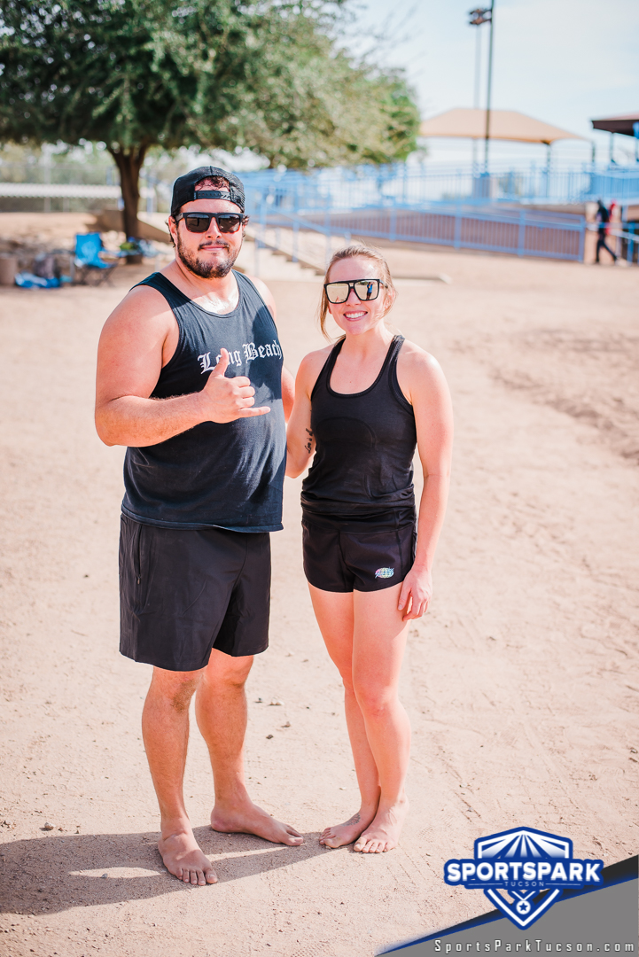 Nov 21st Doubles Sand Volleyball Tournament Co-ed 2v2, Team: Mongeese