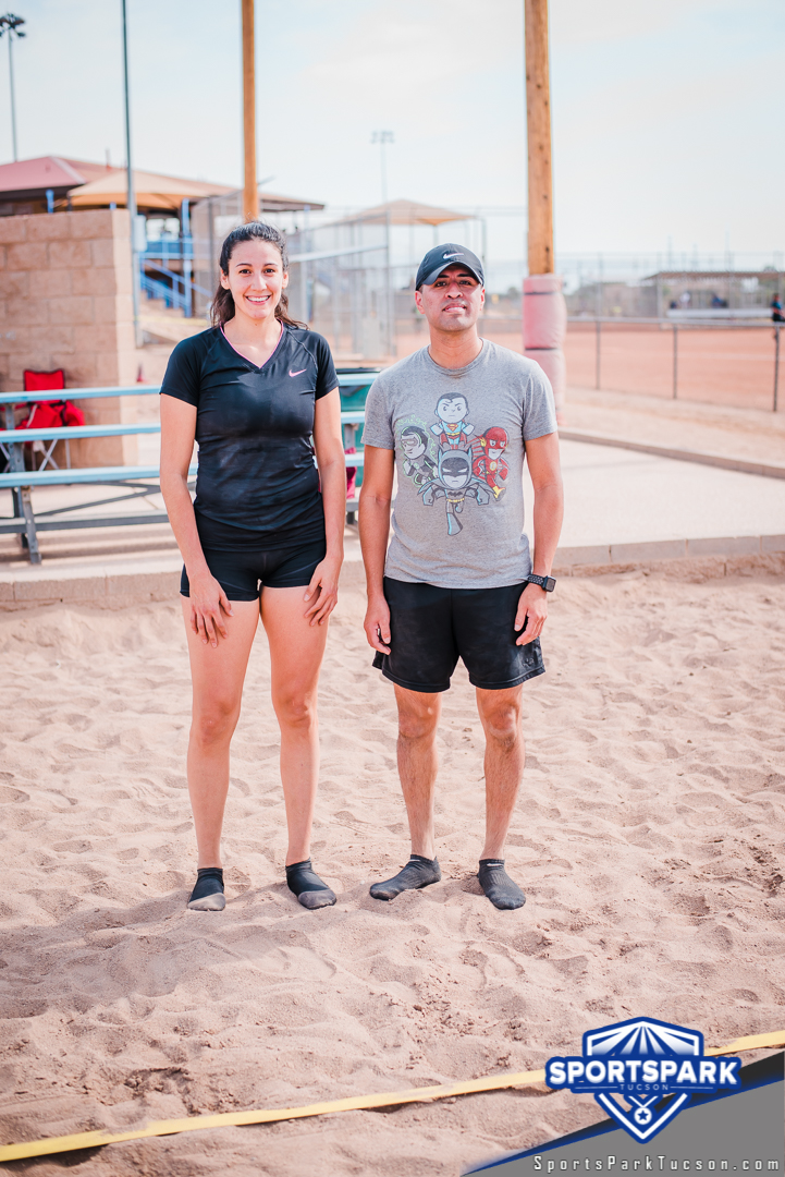 Nov 21st Doubles Sand Volleyball Tournament Co-ed 2v2, Team: B-Man
