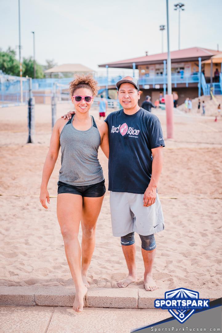 Nov 21st Doubles Sand Volleyball Tournament Co-ed 2v2, Team: Whatevs