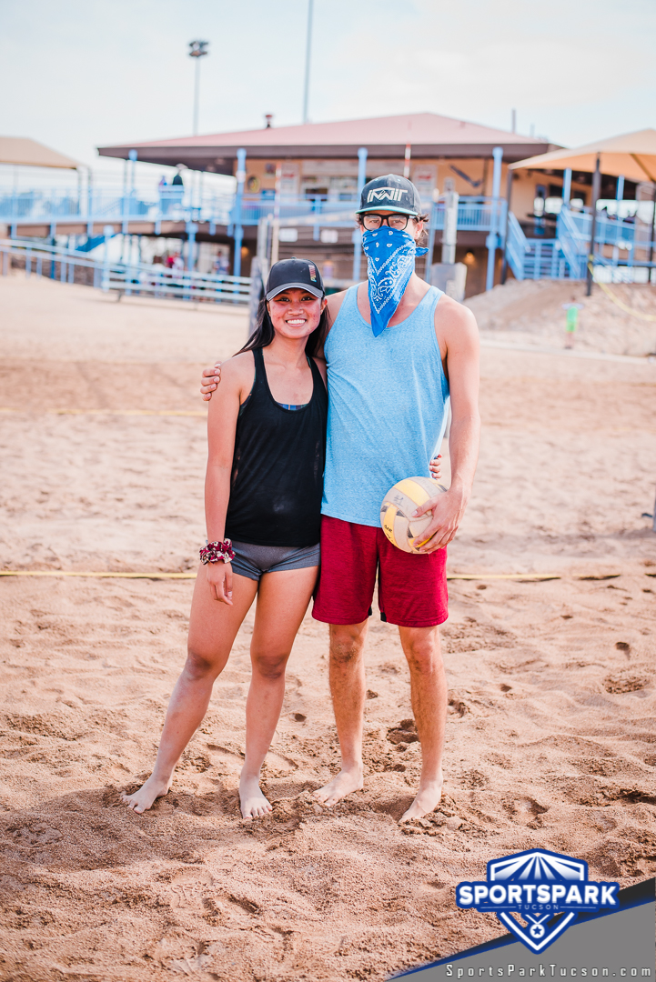 Nov 21st Doubles Sand Volleyball Tournament Co-ed 2v2, Team: Tom and Gravy