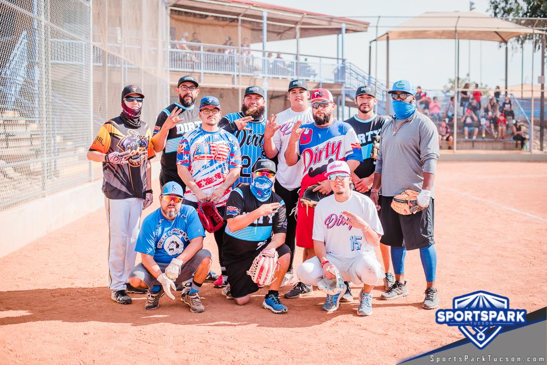 Nov 21st Softball Tournament Men's 10v10 - Upper, Team: Dirty Sanchez