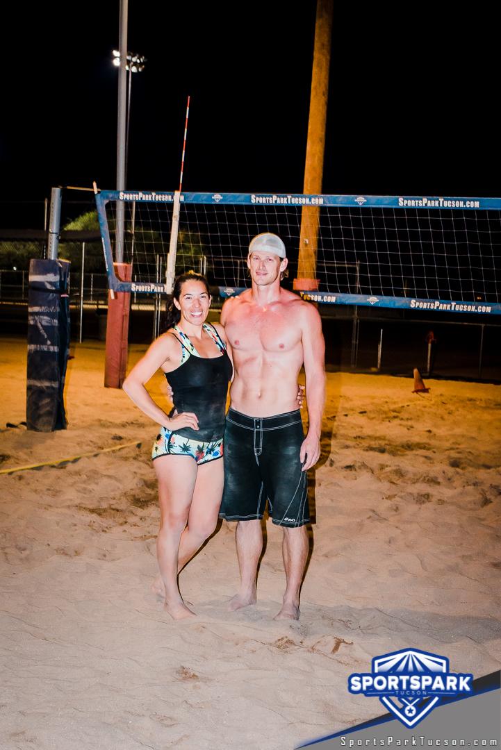 Nov 21st Doubles Sand Volleyball Tournament Co-ed 2v2 Champions