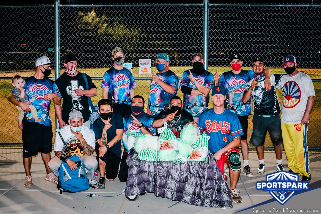 Nov 21st Softball Tournament Men's 10v10 - Lower Champions