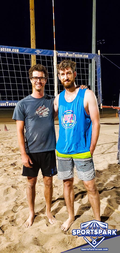 Volleyball Tue Men's 2v2  Champions