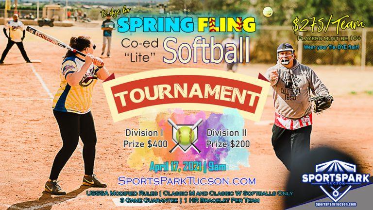 April 17th Softball Tournament Co-ed Lite 10v10