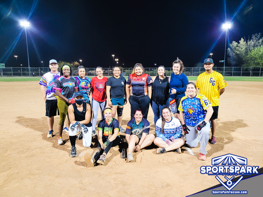 Softball Tue Women's Double Headers 10v10 Champions