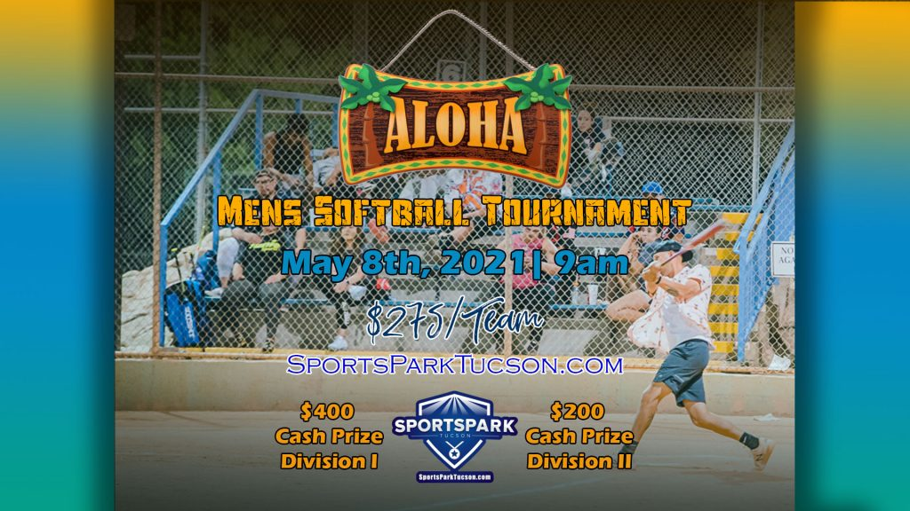 May 8th Softball Tournament Men's 10v10 - Upper & Lower