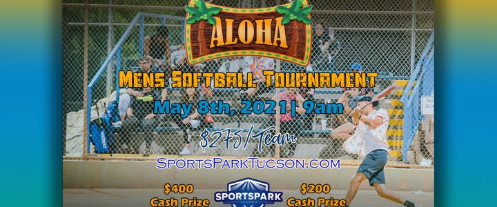 May 8th Softball Tournament Men's 10v10