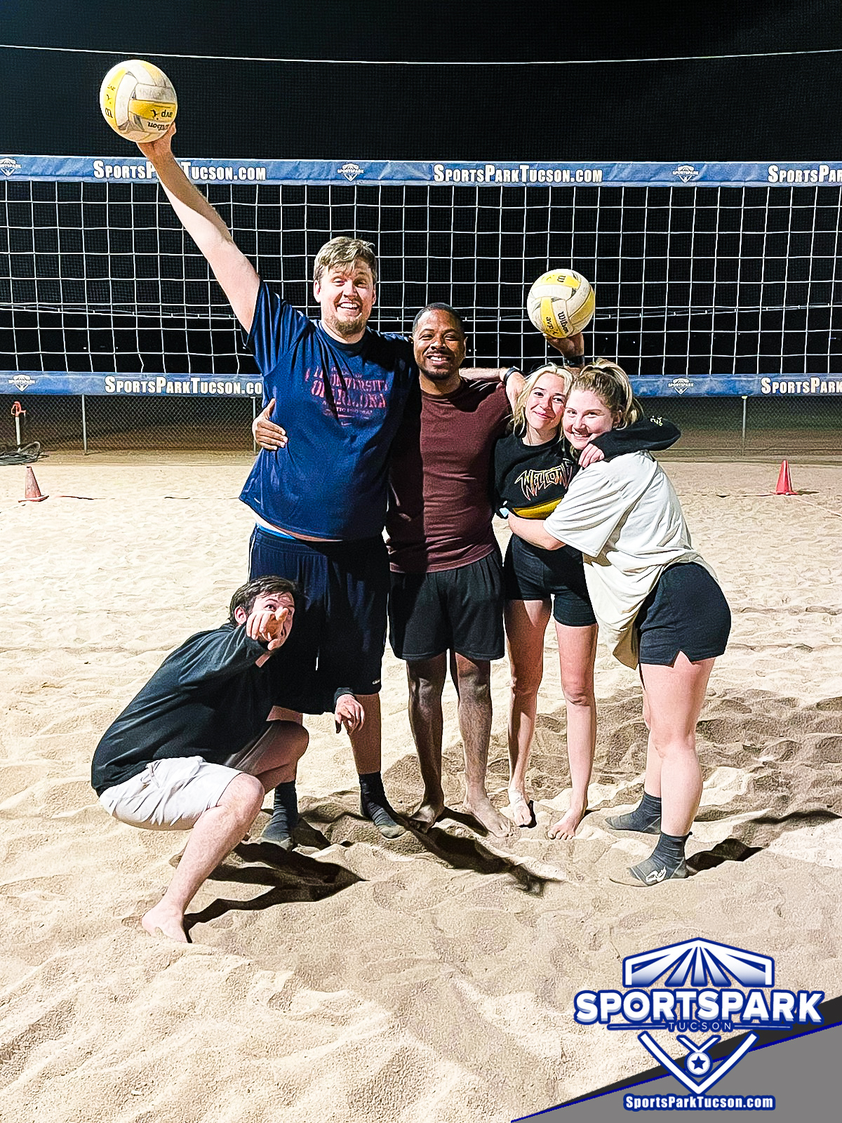 Volleyball Fri Co-ed 6v6 - C, Team: Blue Mountain State