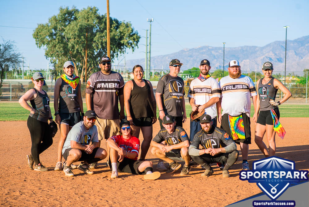 Apr 17th Softball Tournament Co-ed Lite 10v10 - Upper, Team: WP Warriors