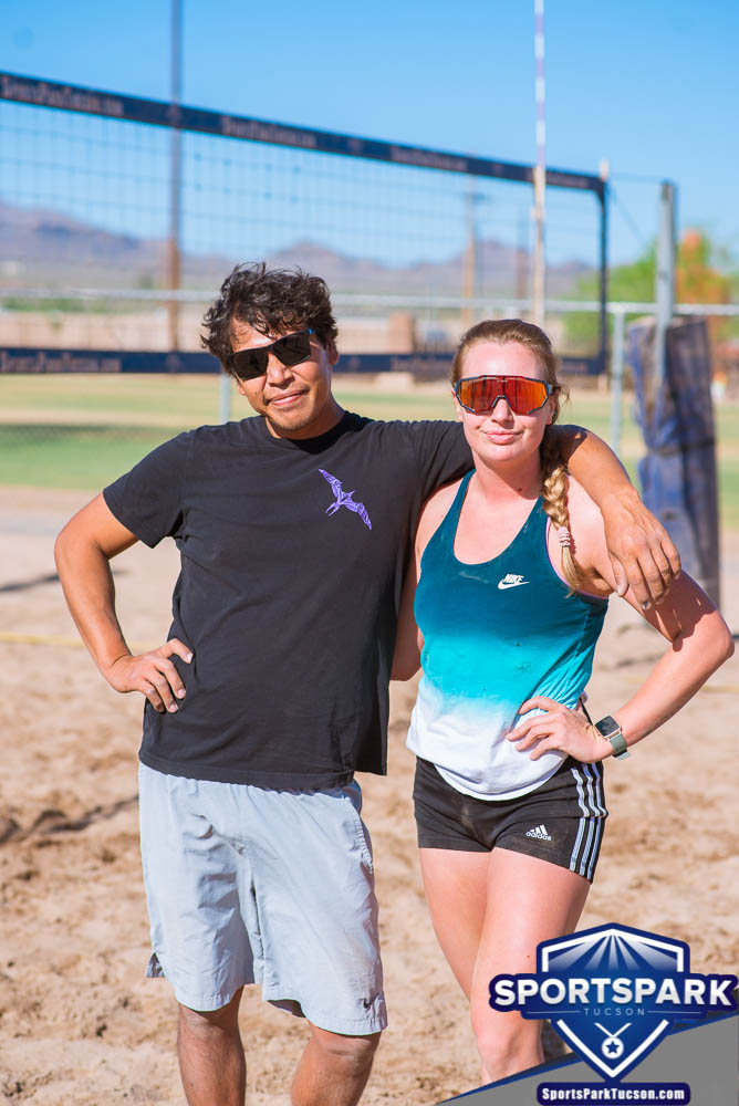 Apr 24th Doubles Sand Volleyball Tournament Co-ed 2v2, Team: Adam/Torrie