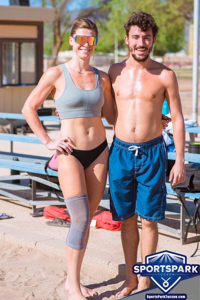 Apr 24th Doubles Sand Volleyball Tournament Co-ed 2v2, Team: Sully/Vanessa