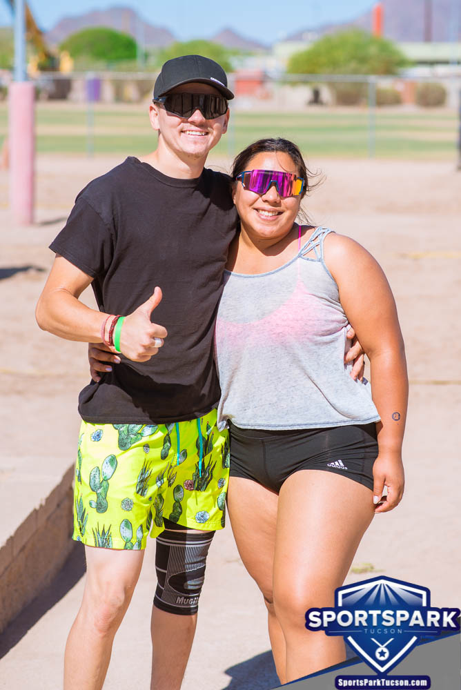 Apr 24th Doubles Sand Volleyball Tournament Co-ed 2v2, Team: Abel/Yuliana
