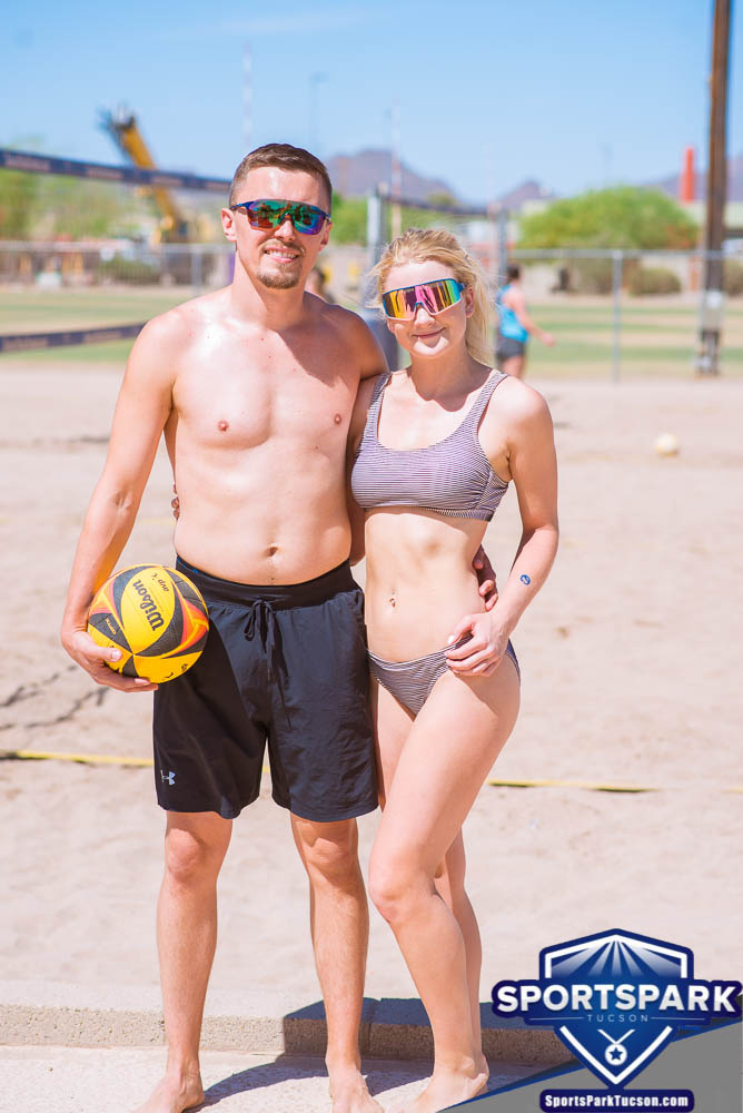Apr 24th Doubles Sand Volleyball Tournament Co-ed 2v2, Team: Kamil/Summer