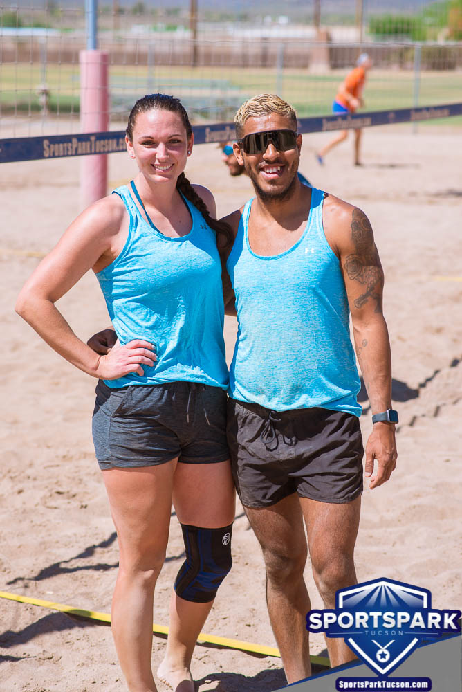 Apr 24th Doubles Sand Volleyball Tournament Co-ed 2v2, Team: Mikey/Lanae