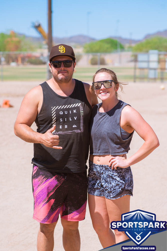 Apr 24th Doubles Sand Volleyball Tournament Co-ed 2v2, Team: Silva/Lacey