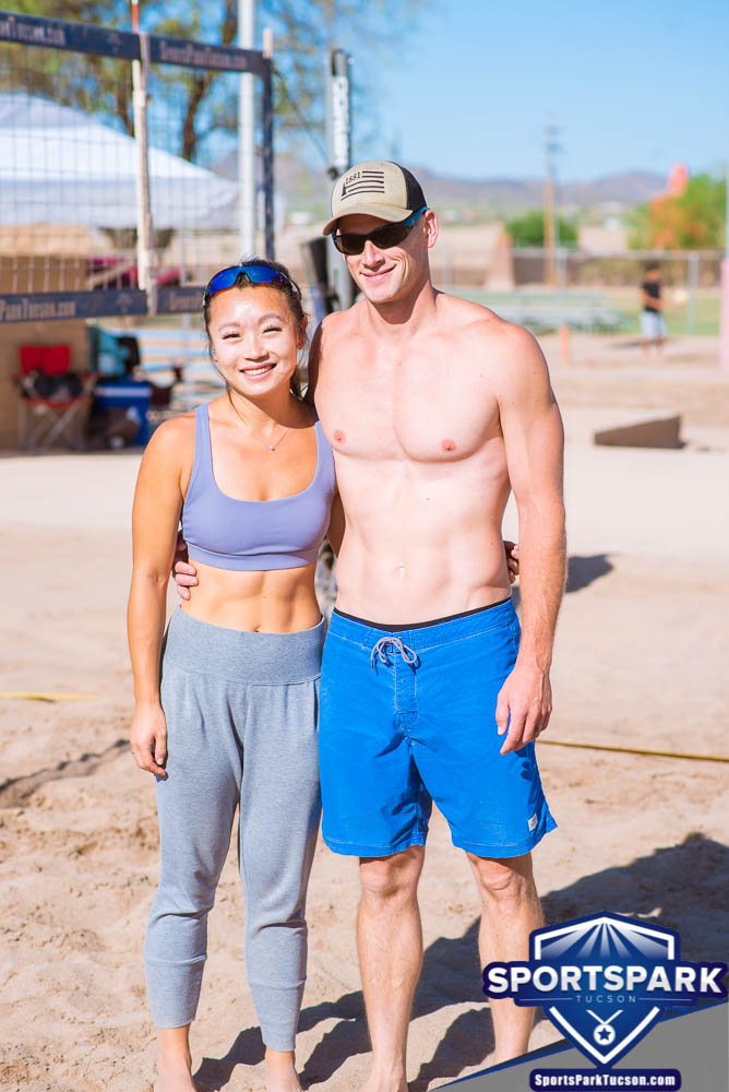 Apr 24th Doubles Sand Volleyball Tournament Co-ed 2v2, Team: Stuart/Wendy