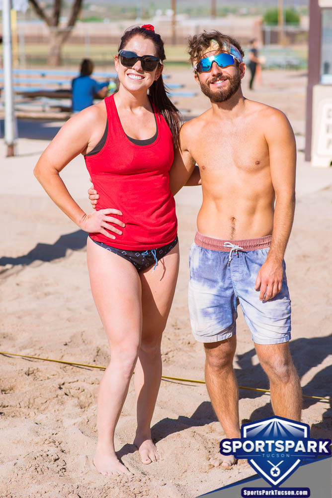 Apr 24th Doubles Sand Volleyball Tournament Co-ed 2v2, Team: Gabe/Maggie