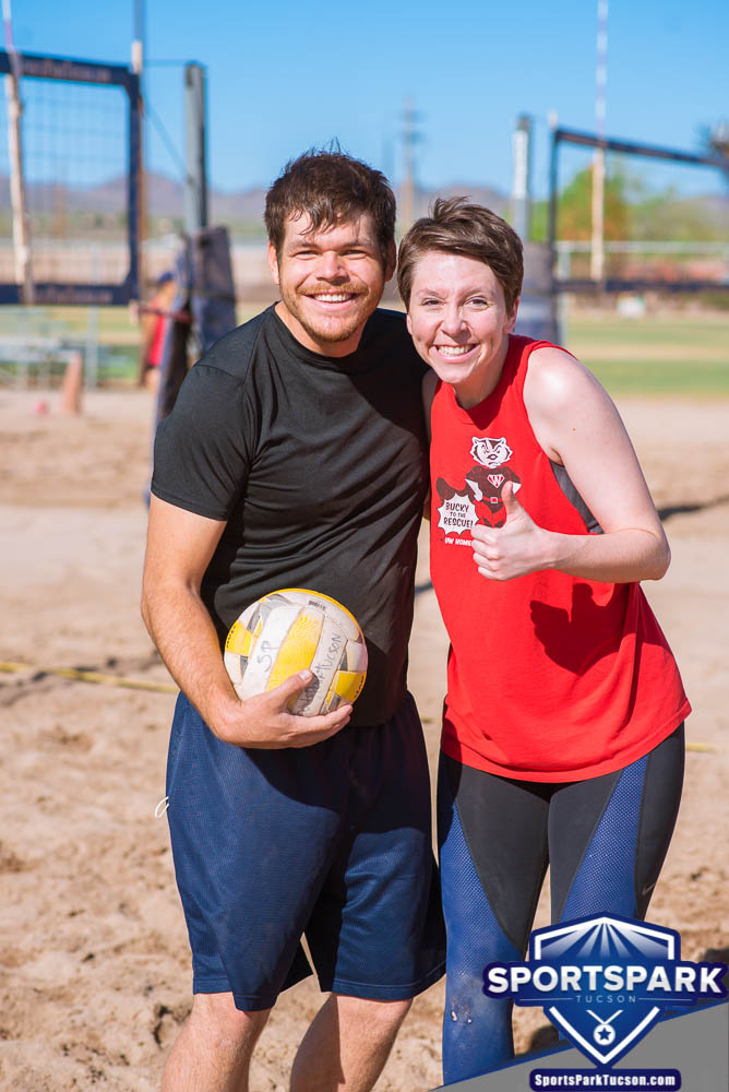 Apr 24th Doubles Sand Volleyball Tournament Co-ed 2v2, Team: Pat/Andrea
