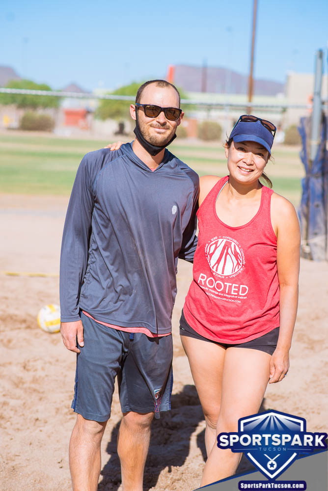 Apr 24th Doubles Sand Volleyball Tournament Co-ed 2v2, Team: Andrew/Sayo