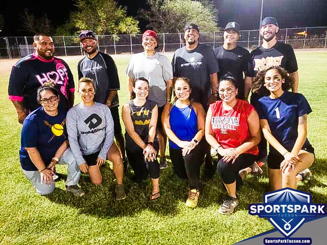 Softball Fri Co-ed 10v10 - E/Rec, Team: WS45