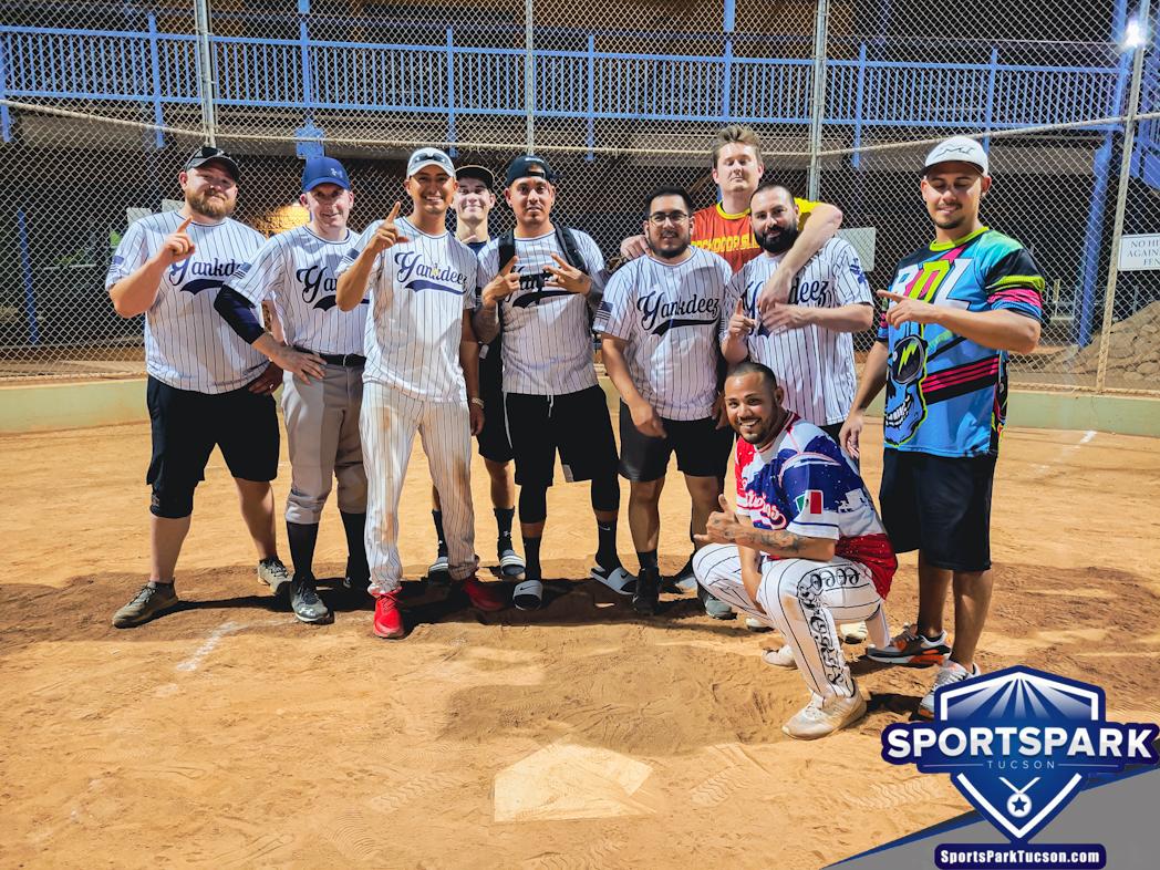 Softball Sun Men's 10v10 - E/Rec Champions