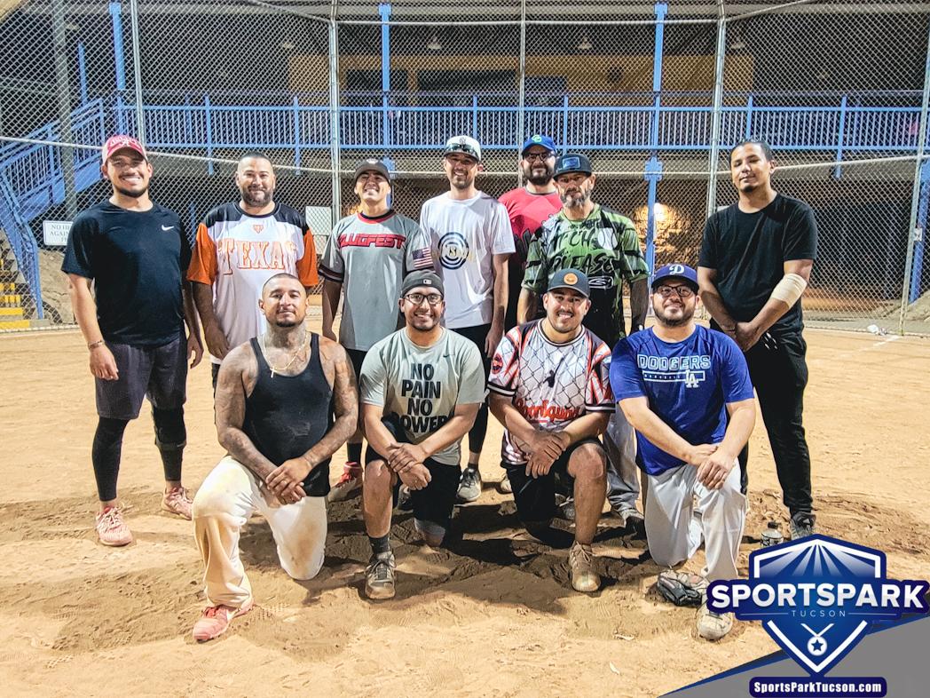 Softball Sun Men's 10v10 - E-2 Champions