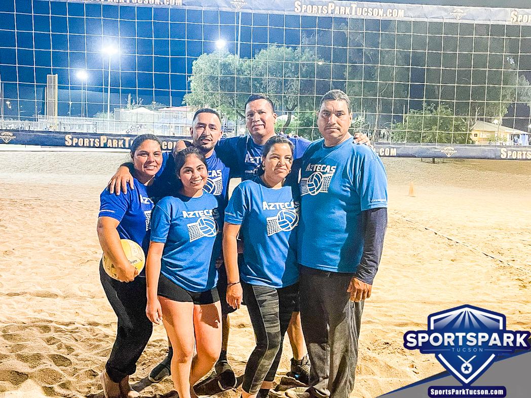 Volleyball Fri Co-ed 6v6 - C, Team: Aztecas