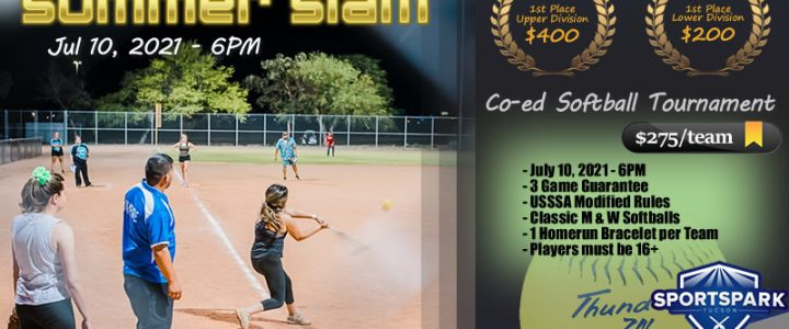 Jul 10th Softball Tournament Co-ed 10v10
