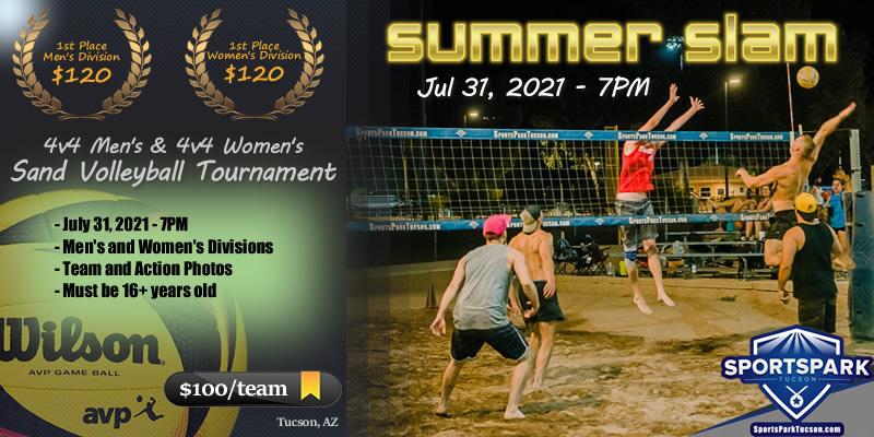 Jul 31st Sand Volleyball Tournament Women's 4v4 - A/B