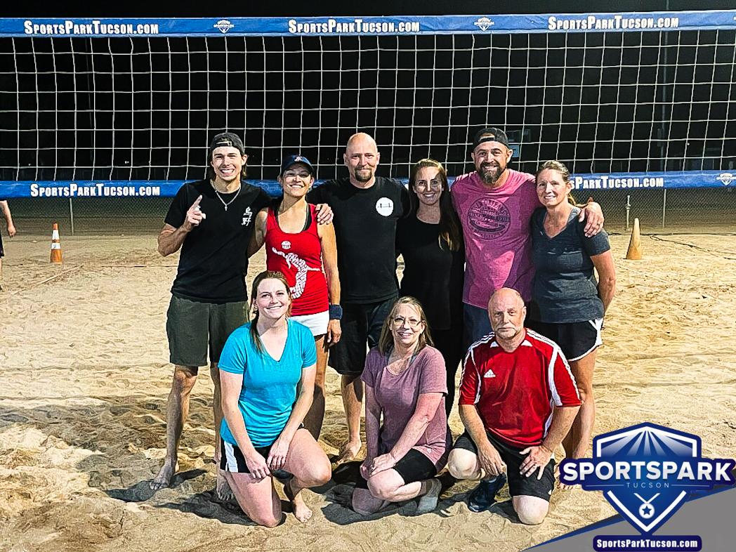 Volleyball Fri Co-ed 6v6 - C/Rec, Team: Heaven Set