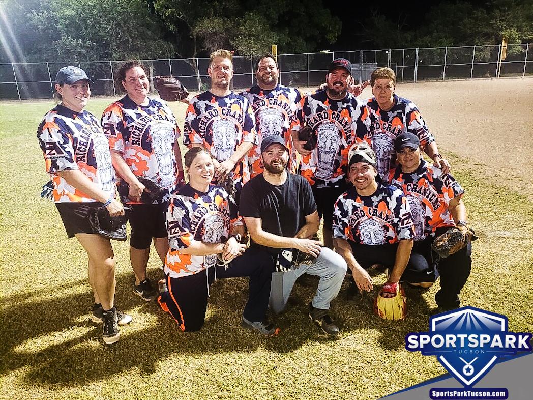 Softball Sun Co-ed 10v10 - E-2 Champions