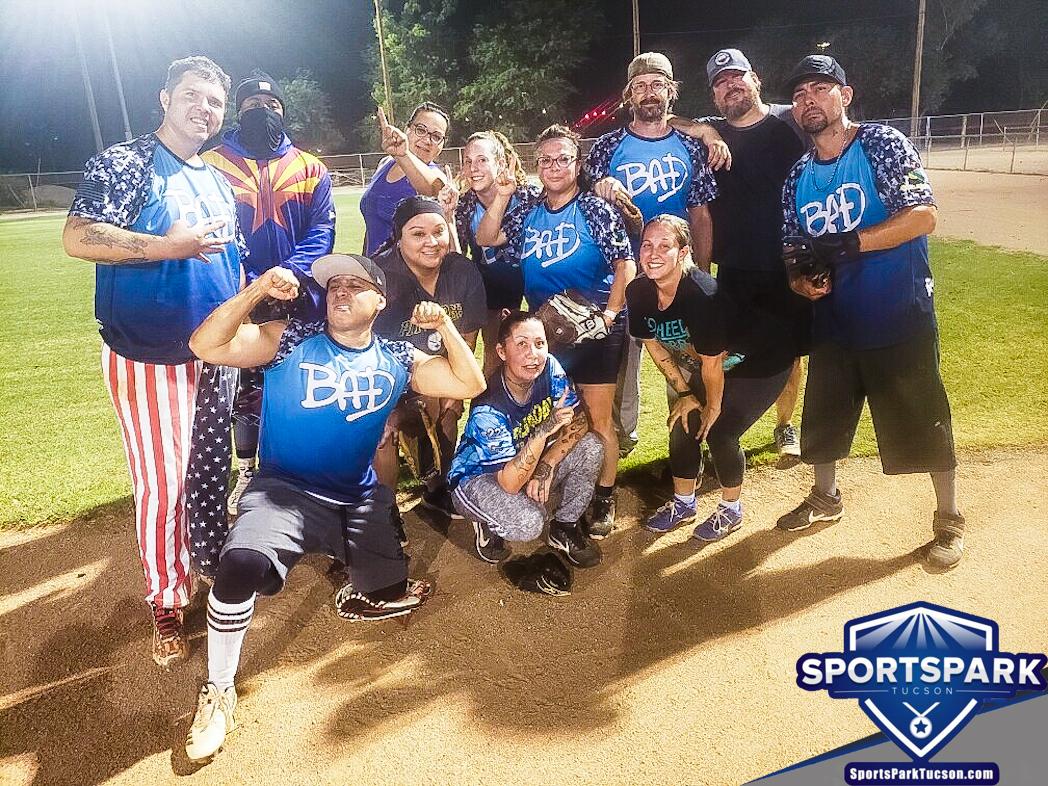 Softball Sun Co-ed 10v10 - E/Rec Champions
