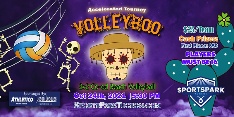 Oct 24th Volleyball Tournament Co-ed 2v2